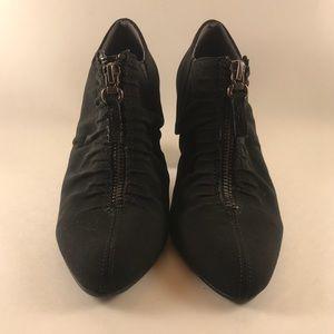 Aerosoles Heelrest Black Suede ankle booties Sz 5